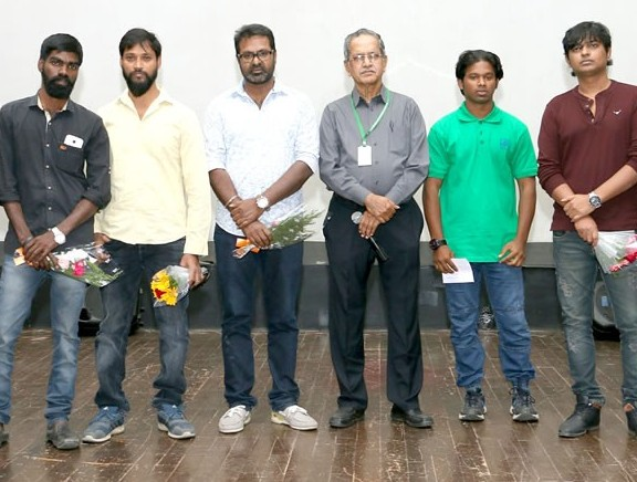Uriyadi Team at 14th Chennai International Film Festival