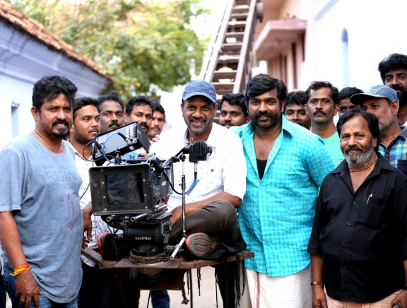 Vijay Sethupathi - Paneer Selvam project first day shoot