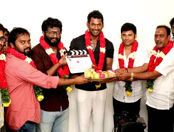 Vishal Film Factory Production No. 7 Movie Pooja