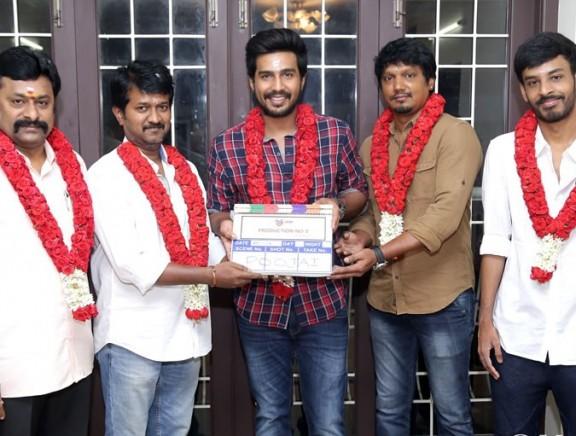 Vishnu Vishal Studioz Production No.3 Movie Pooja