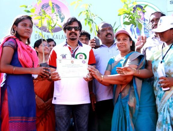 Vivek hosted Green Kalam Peace Rally