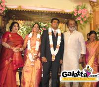 Suriya's sister Brindha's wedding reception