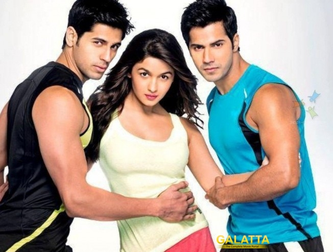 Varun and Alia share a great chemistry : Siddarth