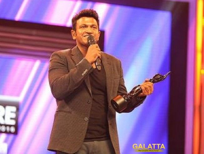 Puneeth and Parul win Filmfare Awards!
