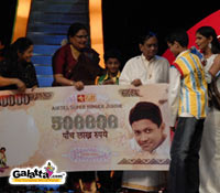 Krishnamoorthy, Airtel Super Singer Junior