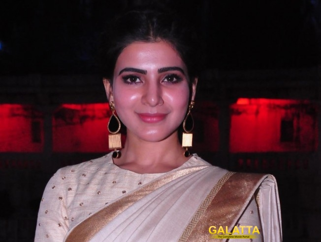 Samantha's silambam training for her upcoming film?