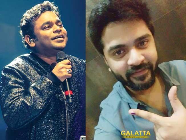 STR Speaks Up to Support AR Rahman