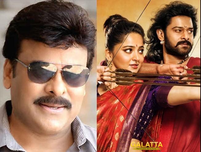 Rajamouli clarifies on Chiru's voice over for Baahubali 2