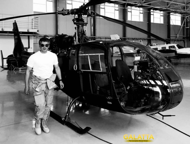 Vivegam at Belgrade airforce base