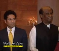Sachin impressed by Rajinikanth