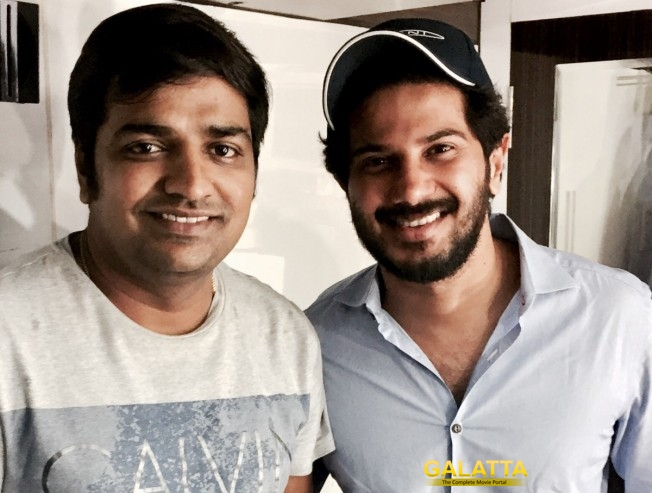 Sathish Shares Screen Space with Dulquer