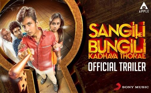 'Sangili Bungili Kadhava Thorae' Official Trailer