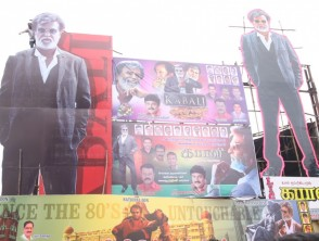 Why Rajinikanth fans removed Kabali banners outside Kasi theatres?