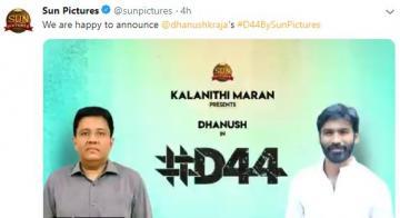 Dhanush 44 Sun Pictures