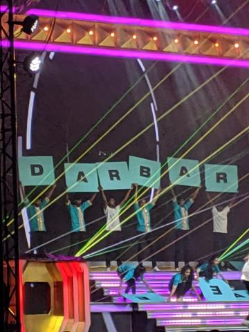Darbar audio launch Superstar Rajinikanth Anirudh Nayanthara
