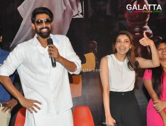 Nene Raju Nene Mantri Movie team attrendset mall Vijayawada