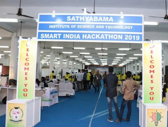 Smart India Hackathon at 2019 Sathyabama University Campus