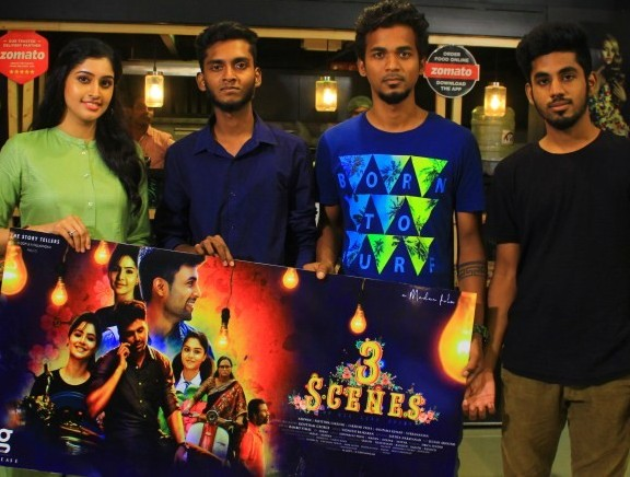 3 Scenes First Look Launch