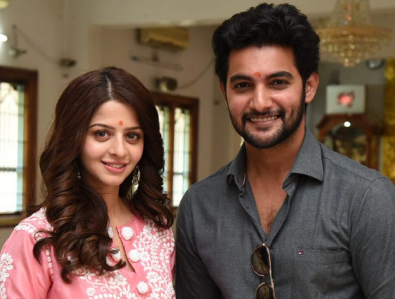 Aadi Saikumar and Vedhika New Movie Launch