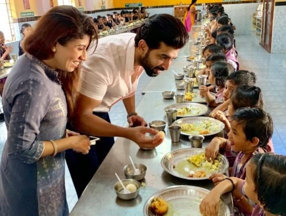Actor Arun Vijay's Birthday Celebration at Udhavum Karangal