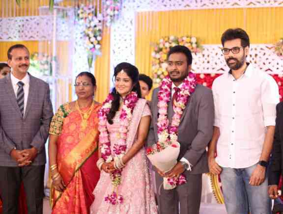 Actor Charlie Elder Son Adhithiya Charlie Wedding Photos