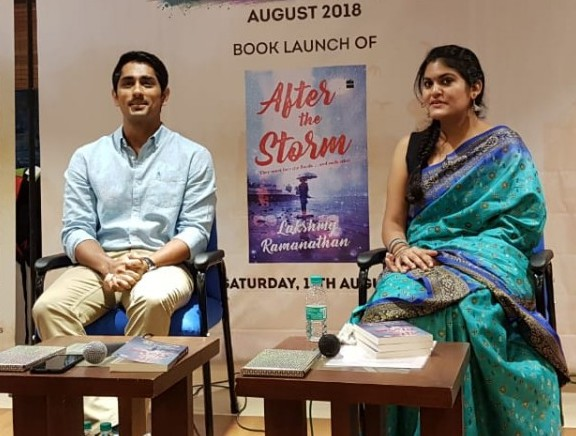 Actor Siddharth Launches Book