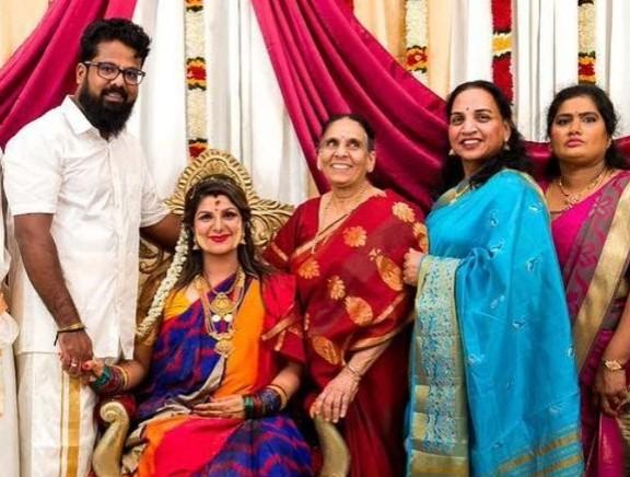 Actress Rambha Baby Shower Function