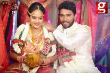 Actress Suja Varunee and Shiva Kumar Wedding