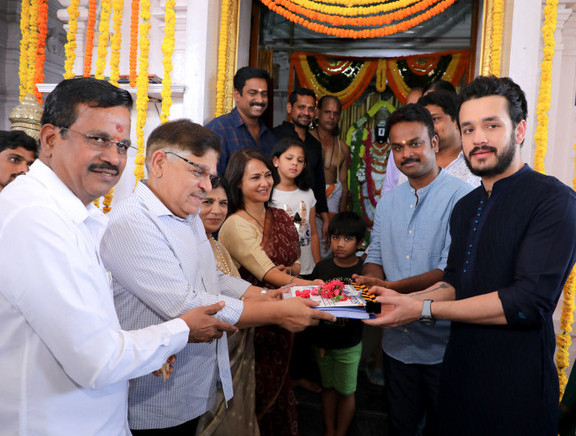 Akhil Akkineni New Movie Launch