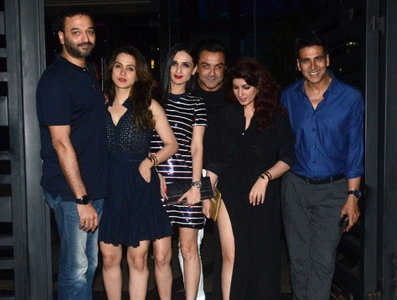 Akshay Kumar's Birthday Party