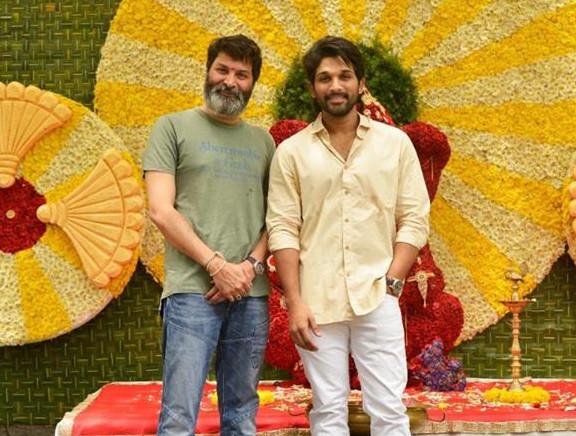 Allu Arjun - Trivikram Srinivas New Movie Launch