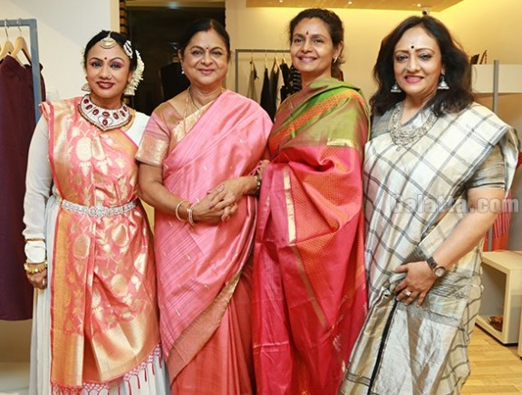 Amortela launches collection of hand-woven saris