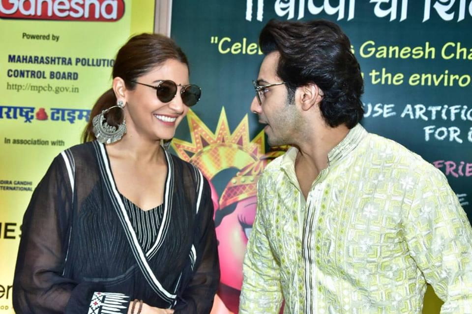Anushka Sharma and Varun Dhawan Launch Green Ganesh Chaturthi