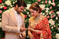 Arya and Sayyeshaa Wedding Reception