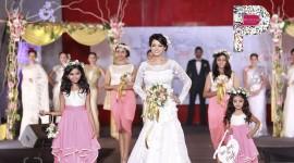 Bhavana Walks for Poornima Indrajith at M4Marry Bridal show