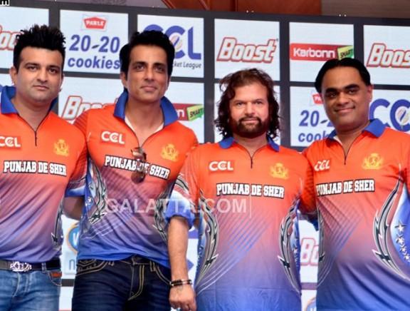CCL Season 6 Press Meet at Mumbai