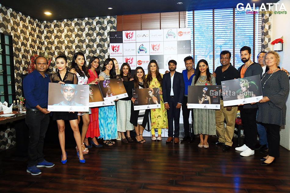 Calendar Launch By Shareef Nandyala