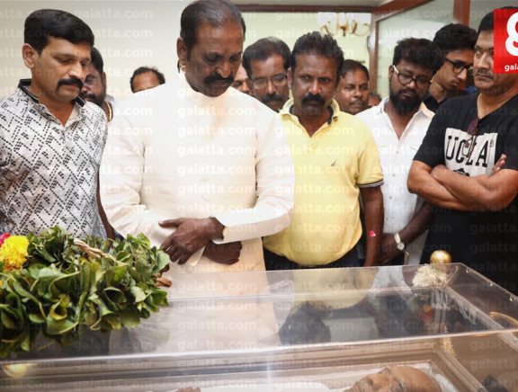 Celebrities Pay Homage to Director Mahendran Set 1
