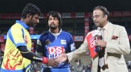 Chennai Rhinos Vs Karnataka Bulldozers Match - CCL 4