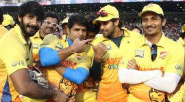 Chennai Rhinos Vs Kerala Strikers Match - CCL 5