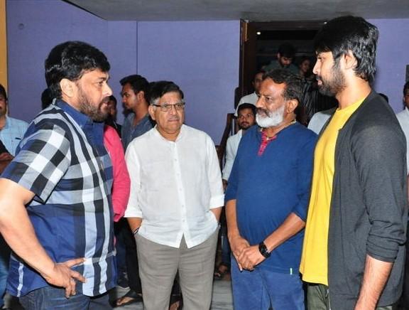 Chiranjeevi and Allu Aravind Watched Vijetha