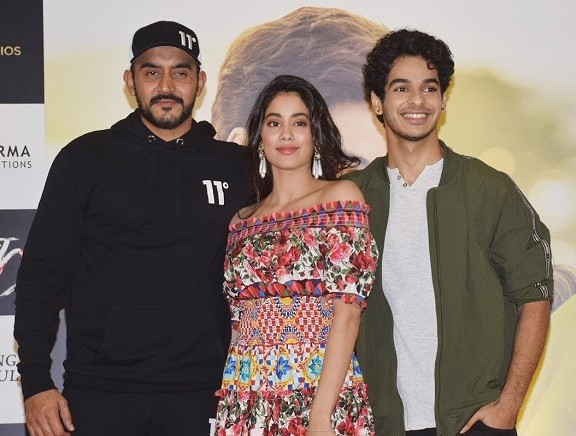 Dhadak Success Party