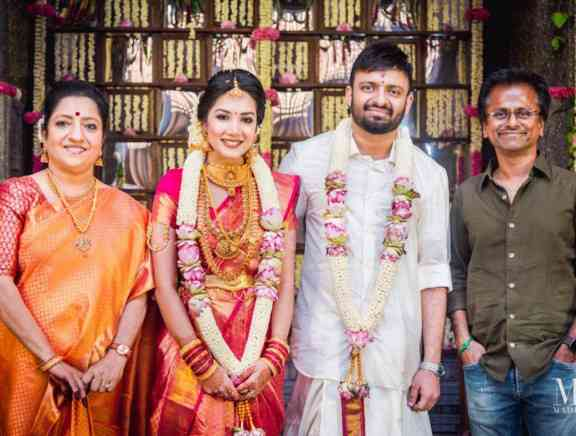Director Anand shankar And Divyanka Wedding