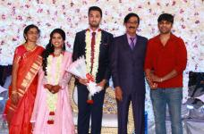 Director Manobala Son Harish and Priya Wedding Reception