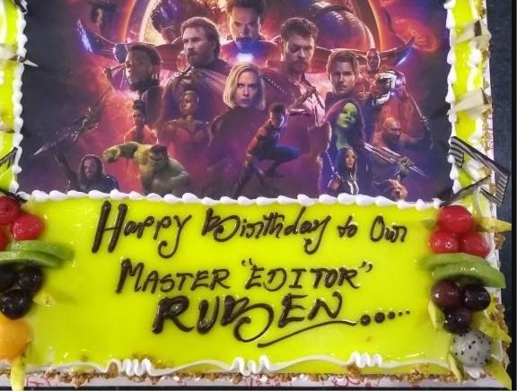 Editor Ruben Birthday Celebrations
