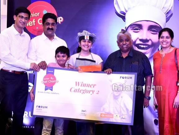 Forum Junior Chef Champ 2018 Grand Finale