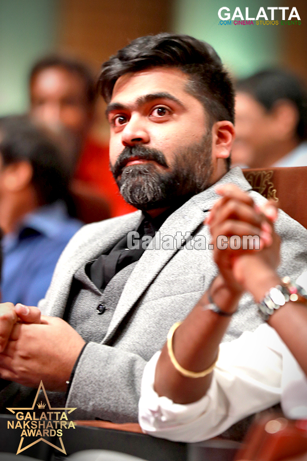 STR Simbu at Galatta Nakshatra Awards 2018