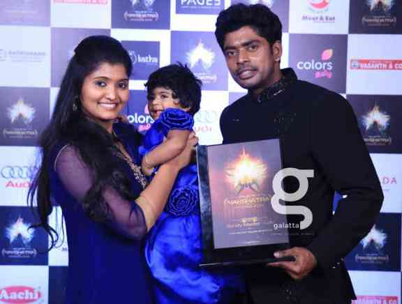 Galatta Nakshatra Awards 2019 The Winners Photos