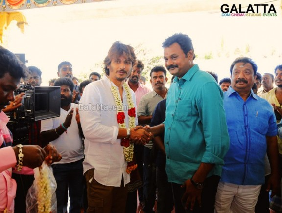 Gypsy Movie Pooja Stills