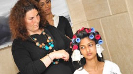 International Make up artist at Page 3